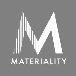 Materiality Logo Szare 638
