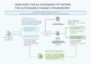 How does the EU Taxonomy Fit within the Sustainable Finance Framework
